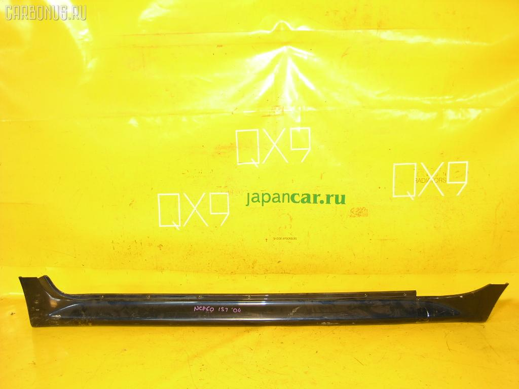 Порог кузова пластиковый ( обвес ) TOYOTA IST NCP60. Фото 3