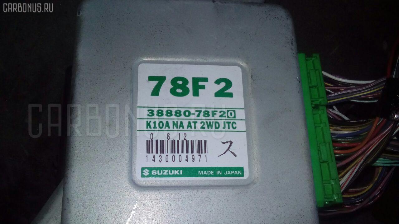 Двигатель SUZUKI WAGON R PLUS MA63S K10A. Фото 6