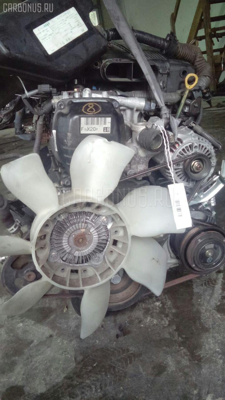 Двигатель TOYOTA ALTEZZA GITA GXE10W 1G-FE. Фото 2