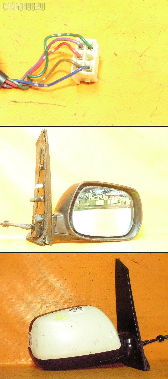 Зеркало двери боковой TOYOTA IPSUM ACM21W. Фото 5