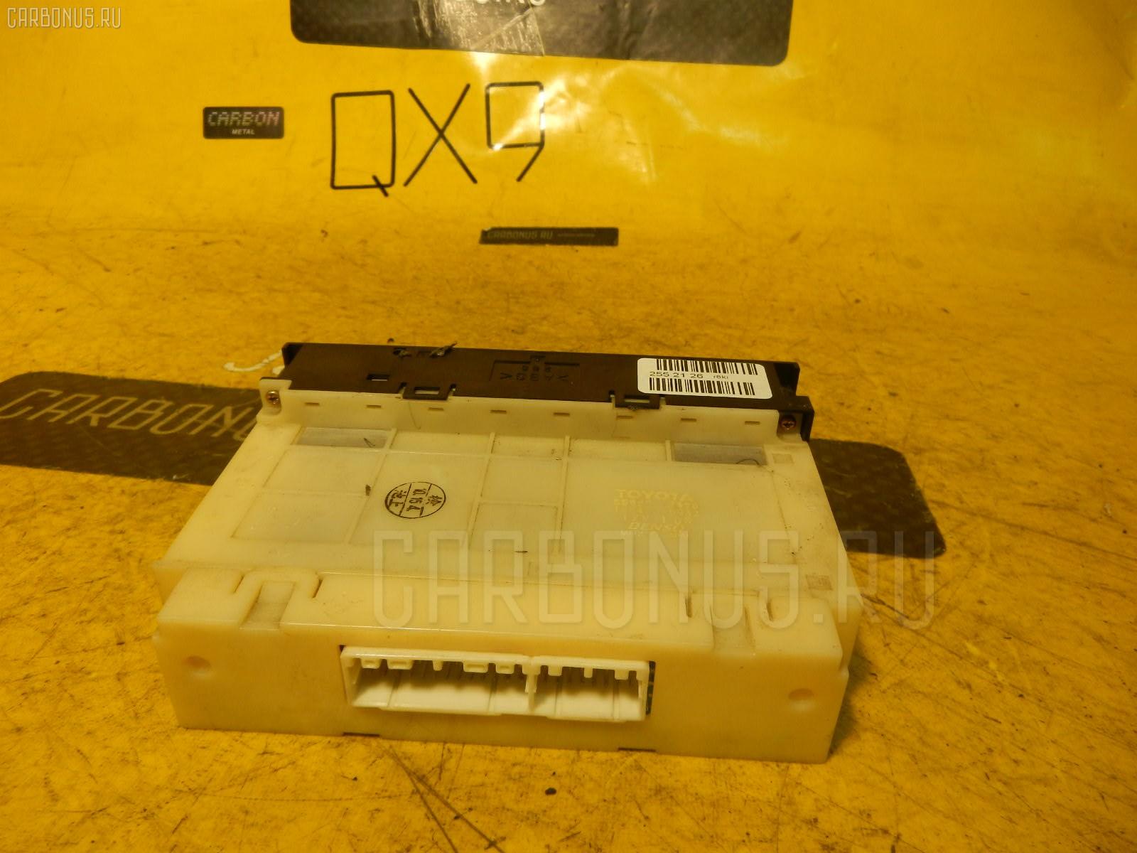 Блок управления климатконтроля TOYOTA JZX100 1JZ-GE. Фото 6