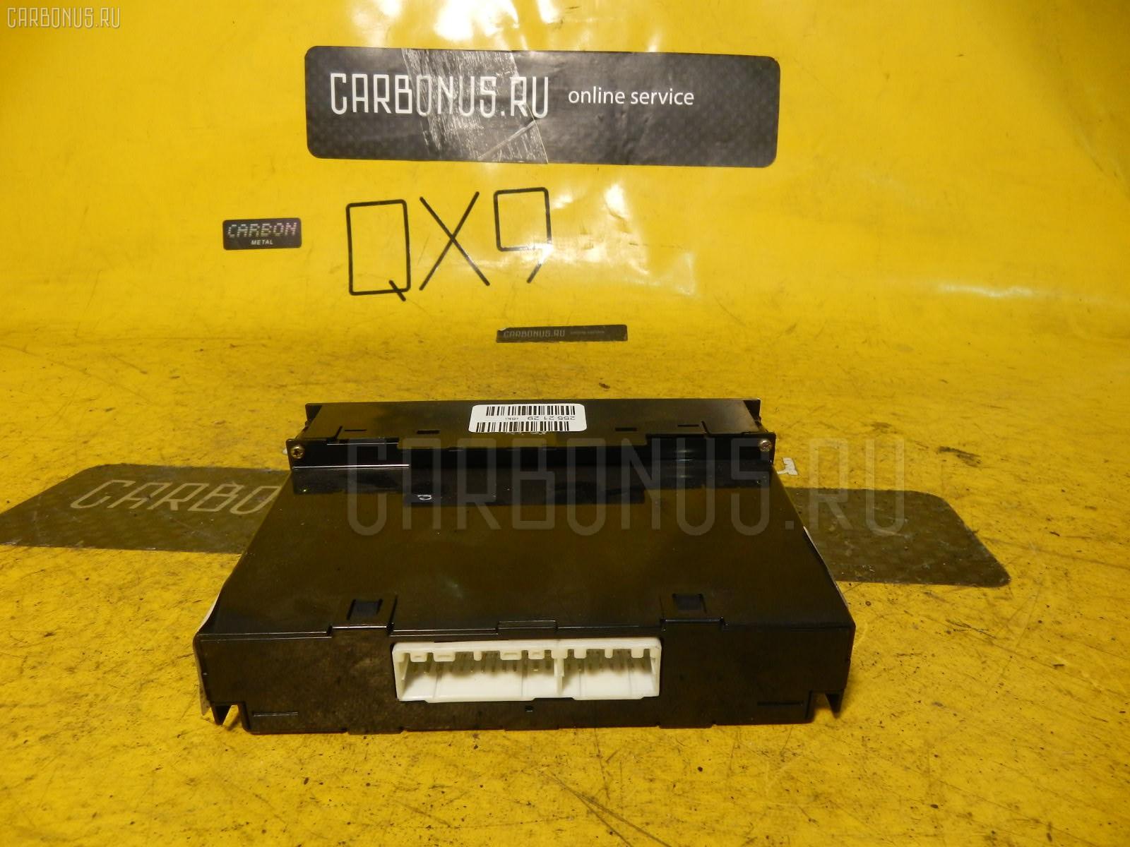 Блок управления климатконтроля TOYOTA IPSUM SXM10G 3S-FE. Фото 6