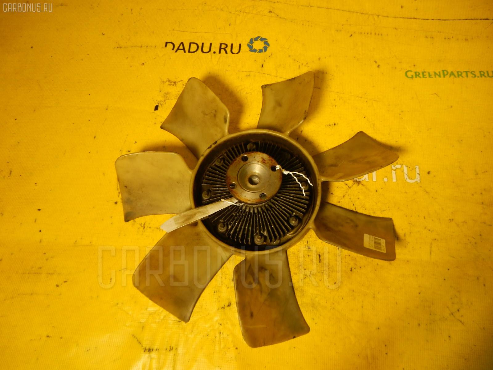 Вискомуфта TOYOTA CHASER JZX105 1JZ-GE. Фото 10