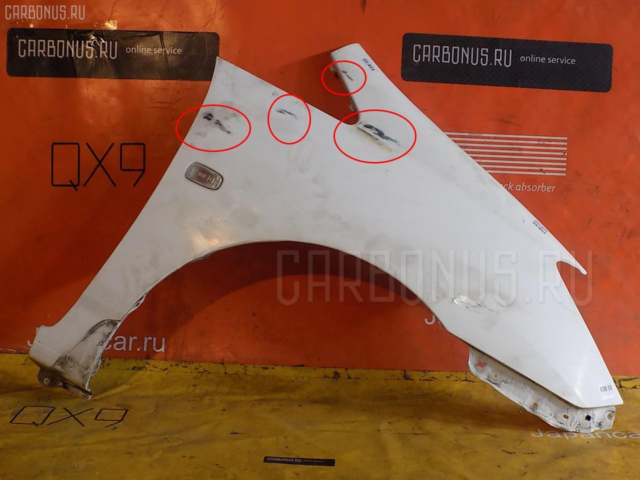 Крыло переднее TOYOTA COROLLA SPACIO ZZE122N. Фото 1