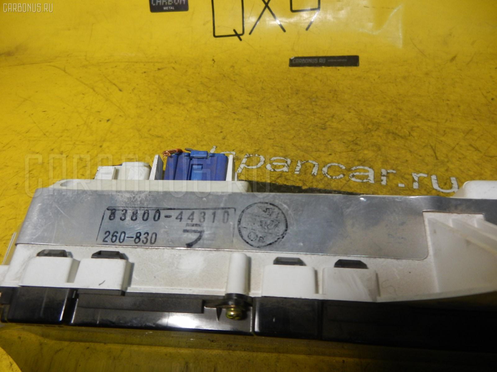 Спидометр TOYOTA GAIA SXM10G 3S-FE. Фото 7
