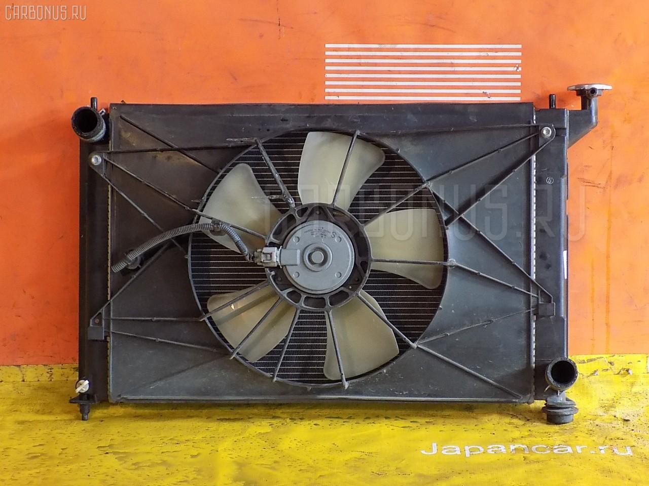 Радиатор ДВС TOYOTA WISH ZNE10G 1ZZ-FE. Фото 2