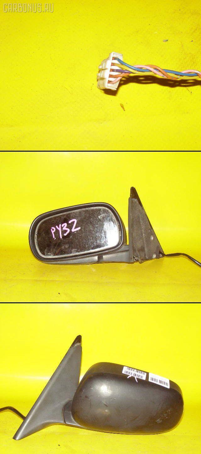 Зеркало двери боковой NISSAN CEDRIC PY32. Фото 1