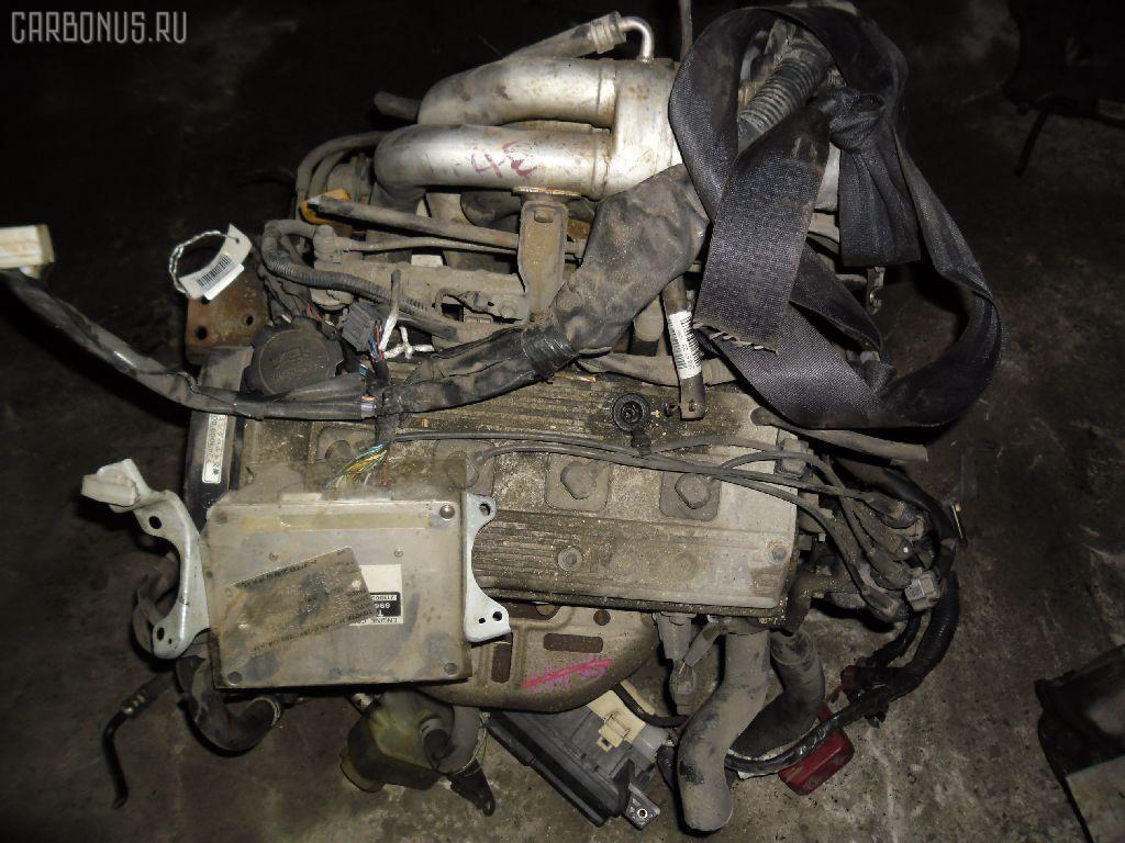 Двигатель TOYOTA SPRINTER EE111 4E-FE. Фото 5