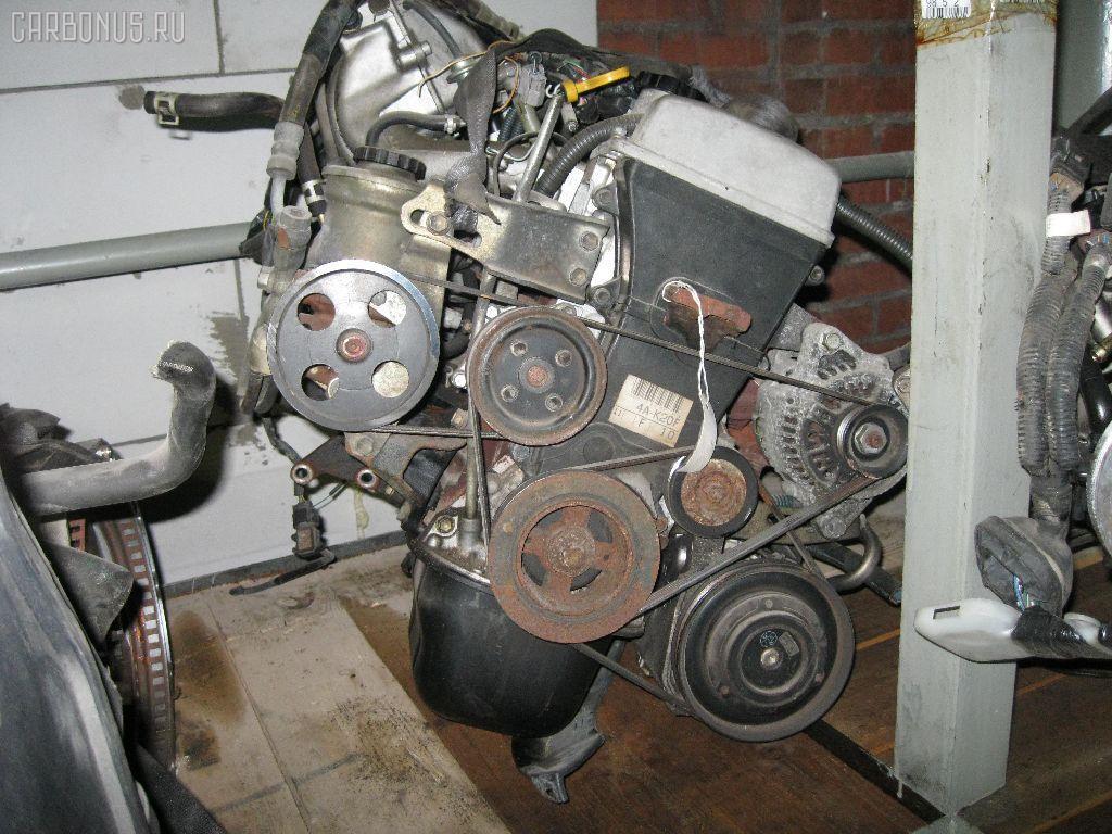Двигатель TOYOTA COROLLA AE114 4A-FE. Фото 1