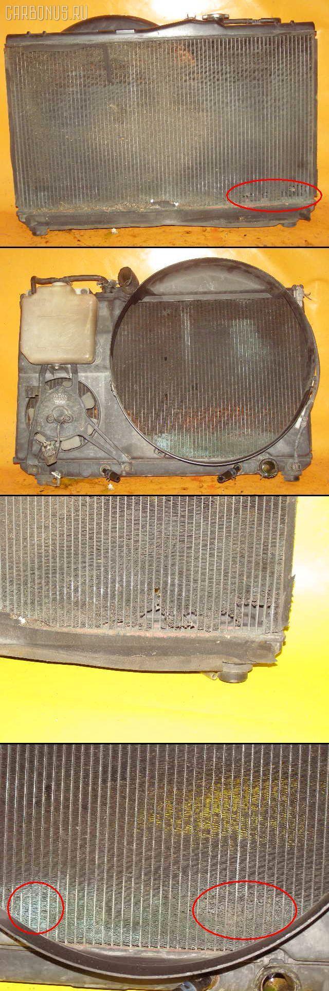 Радиатор ДВС TOYOTA CHASER JZX90 1JZ-GE. Фото 7