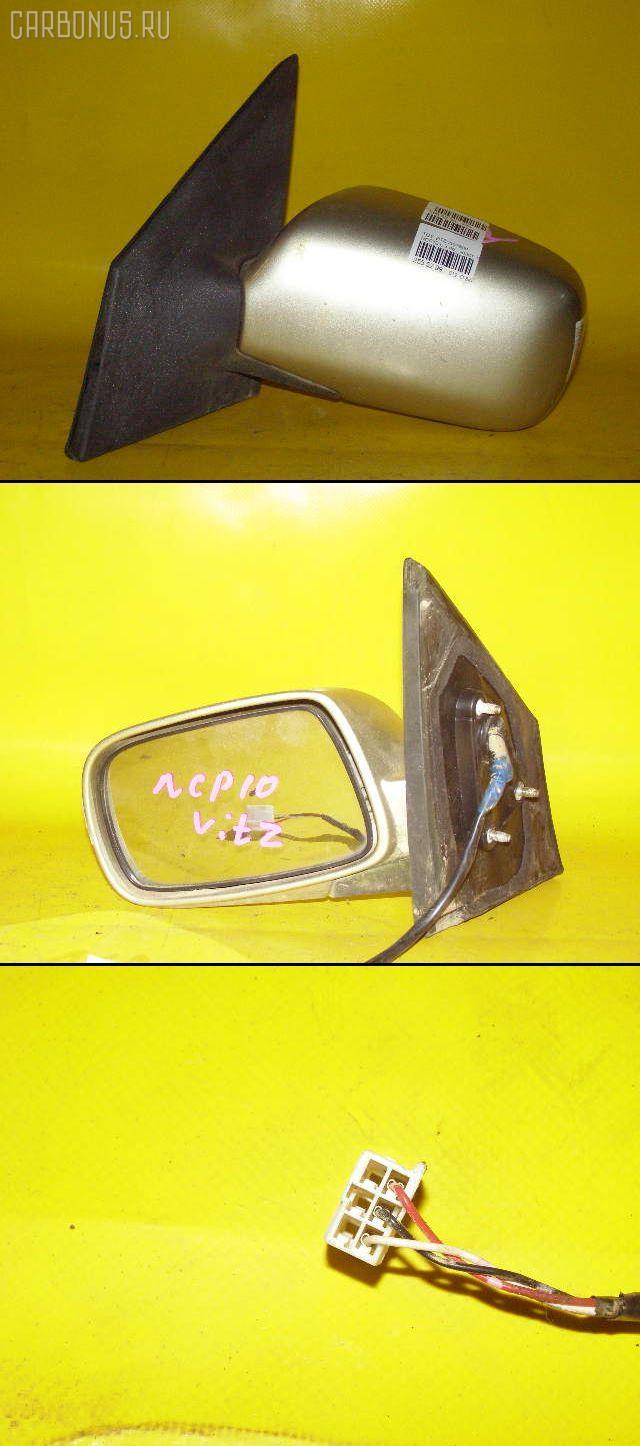 Зеркало двери боковой TOYOTA VITZ NCP10. Фото 6