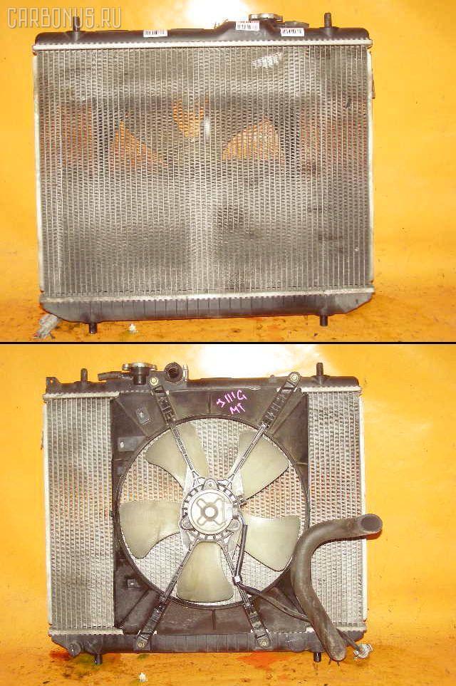 Радиатор ДВС DAIHATSU TERIOS KID J111G EF-DEM. Фото 1