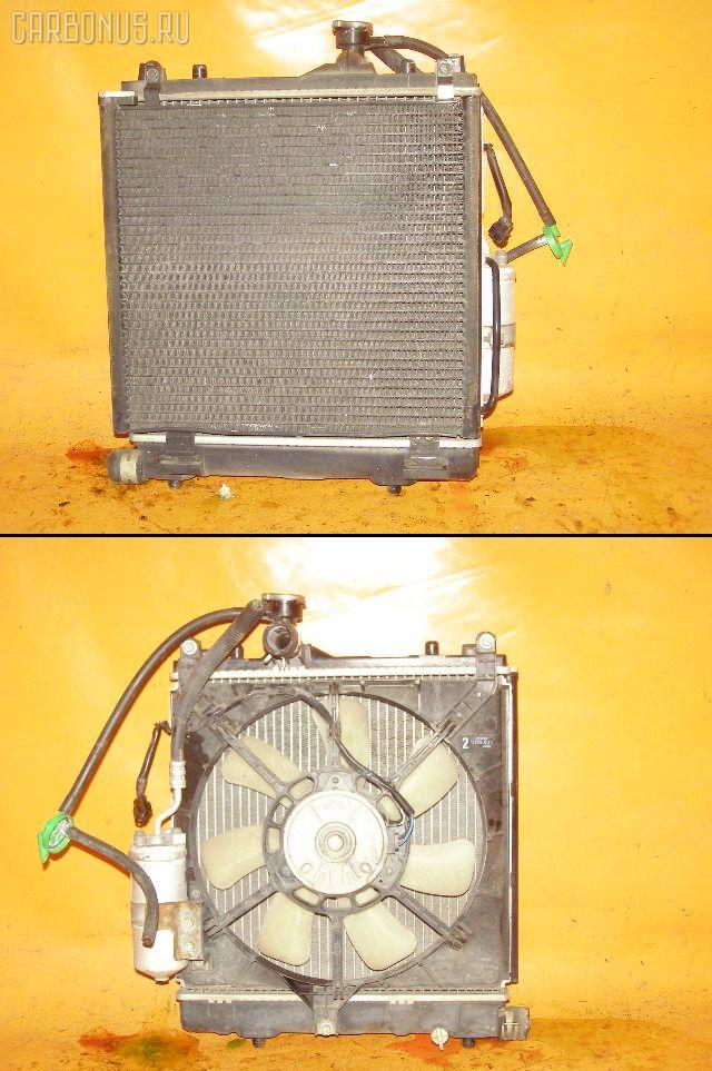 Радиатор ДВС SUZUKI WAGON R MC22S K6A. Фото 3