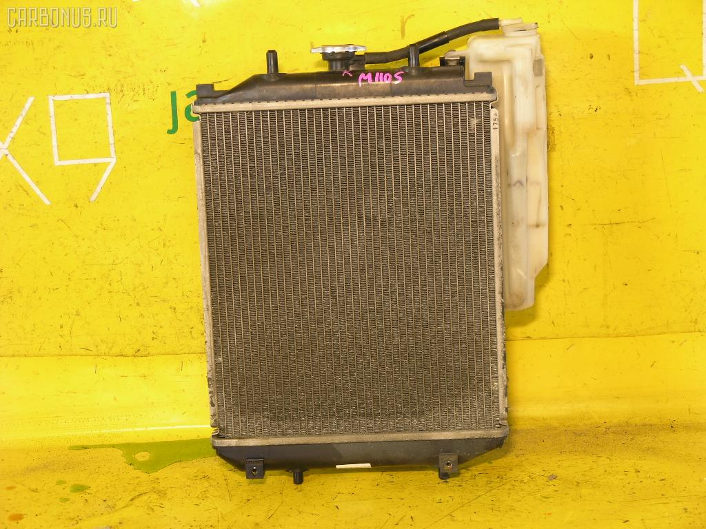 Радиатор ДВС DAIHATSU STORIA M110S EJ-DE. Фото 1
