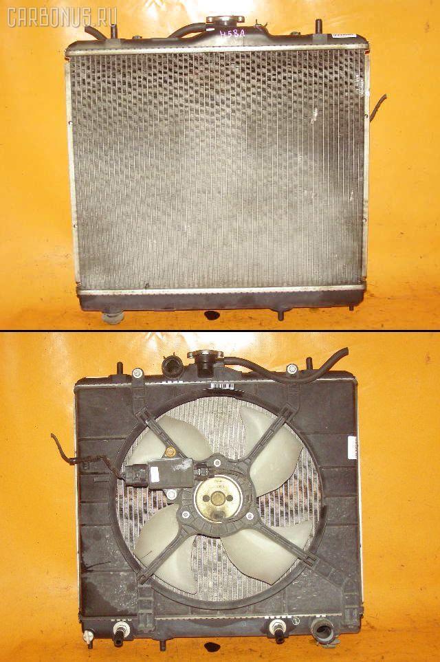 Радиатор ДВС MITSUBISHI PAJERO MINI H58A 4A30. Фото 4