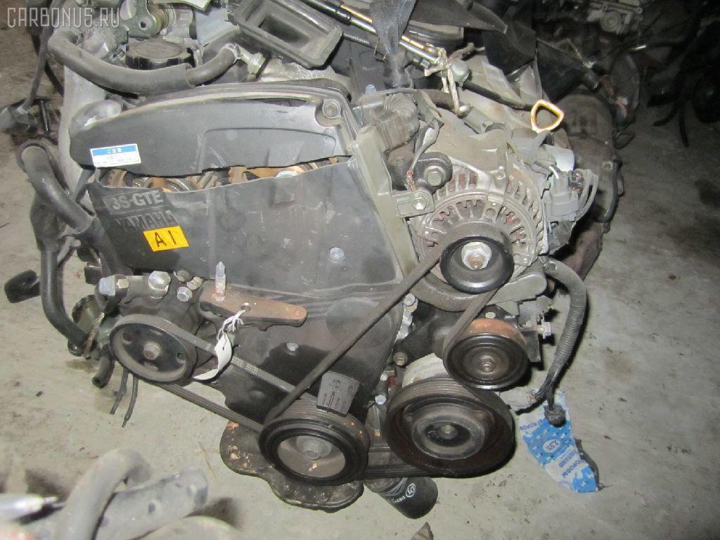 Двигатель TOYOTA CELICA ST205 3S-GTE. Фото 9