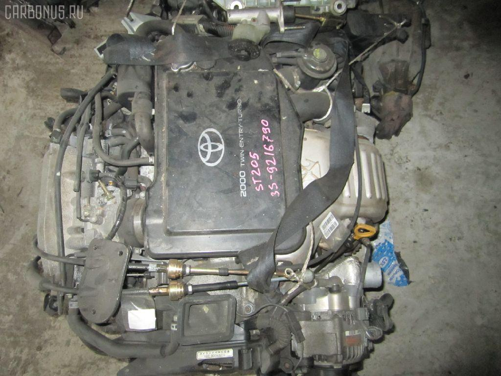 Двигатель TOYOTA CELICA ST205 3S-GTE. Фото 11