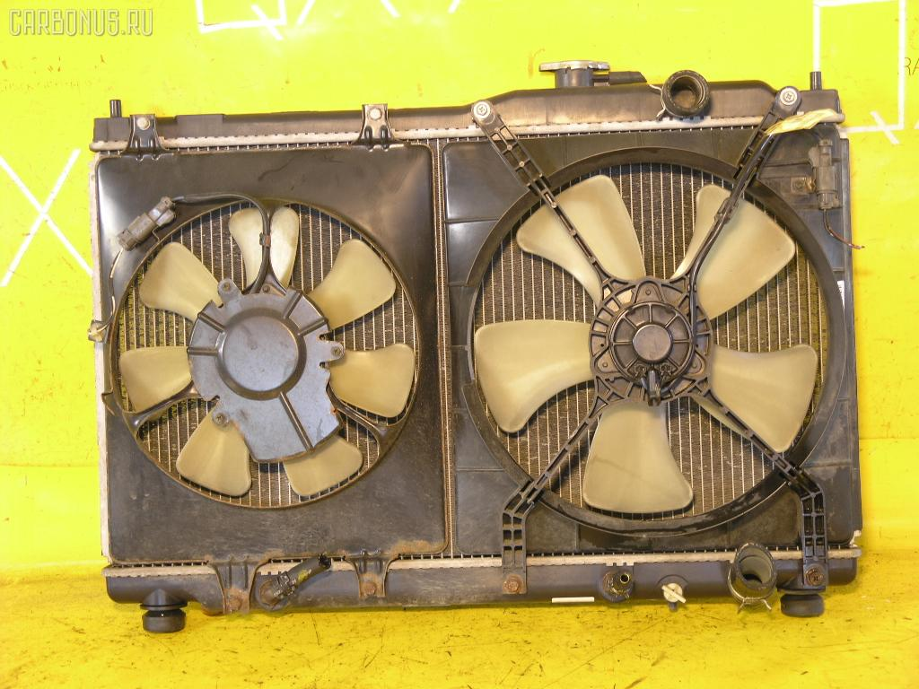 Радиатор ДВС HONDA STEP WGN RF1 B20B. Фото 4