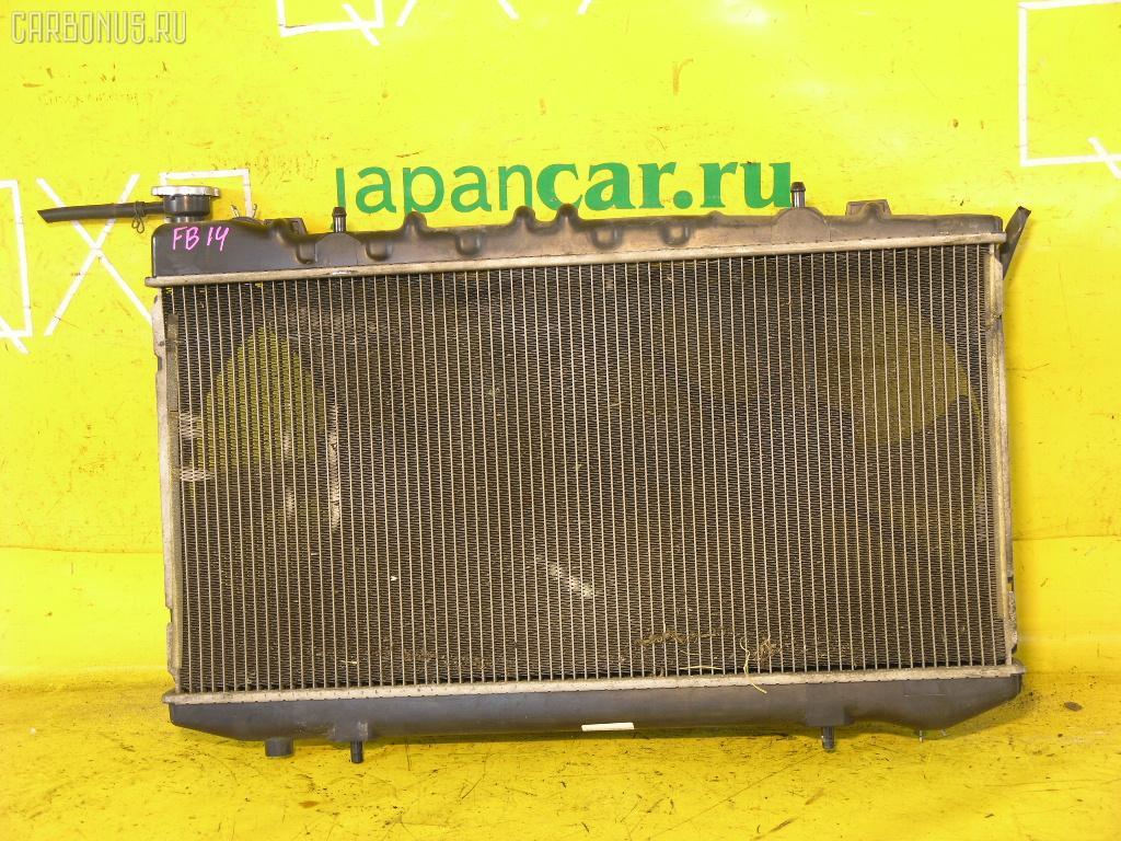 Радиатор ДВС NISSAN SUNNY FB14 GA15DE. Фото 6