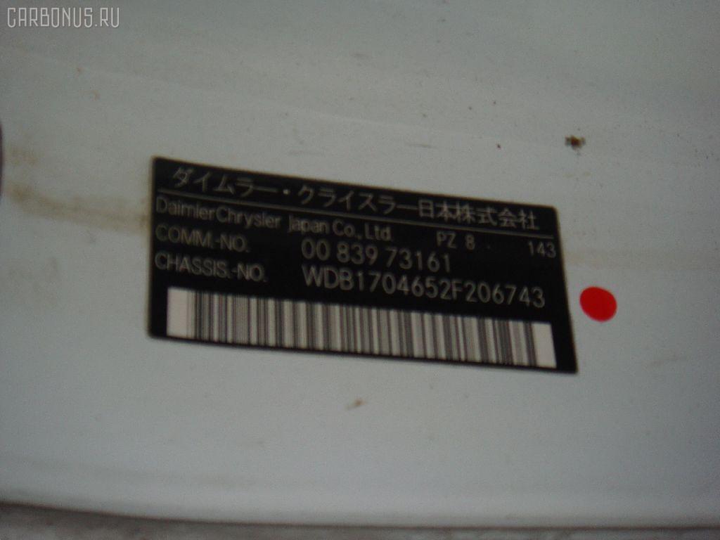 Кардан MERCEDES-BENZ SLK-CLASS R170.465 112.947 Фото 3