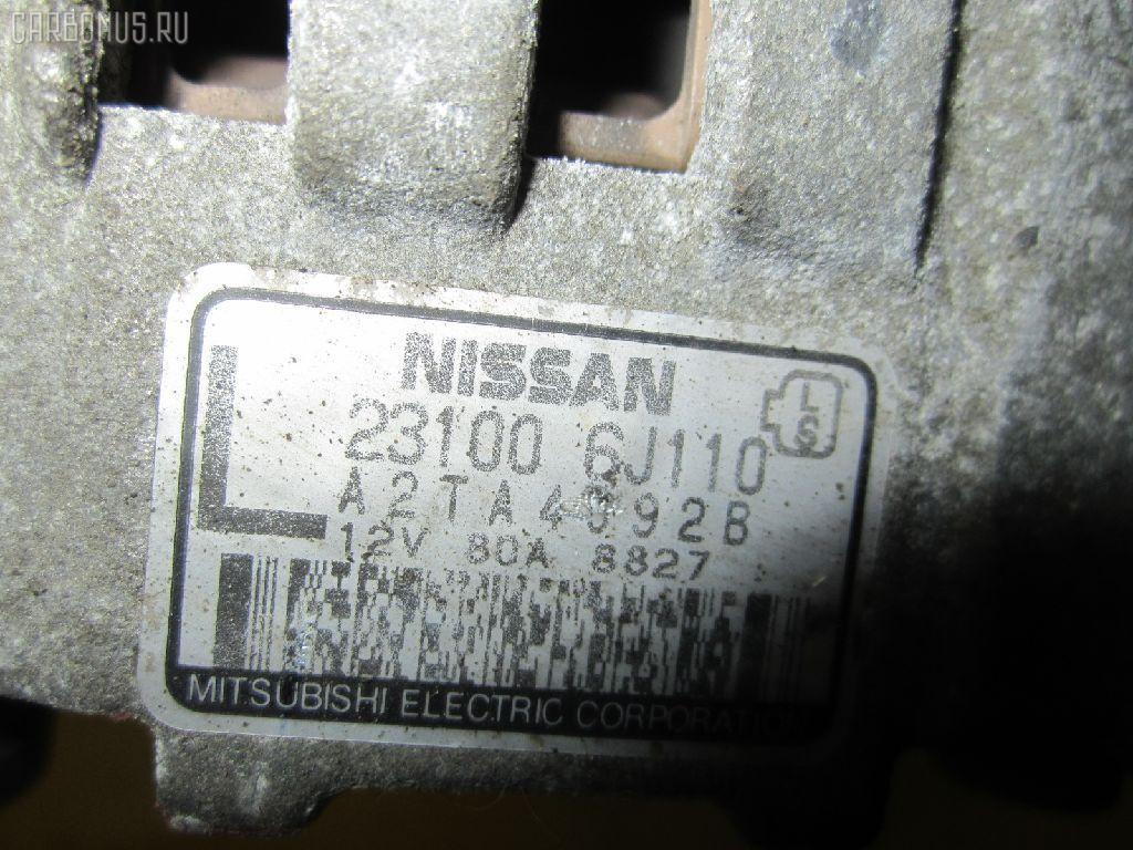 Генератор NISSAN AVENIR PNW11 SR20DE. Фото 1