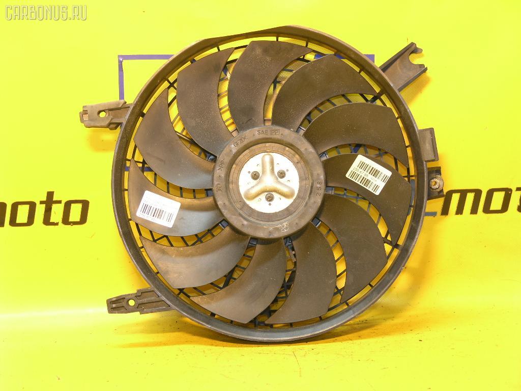 Вентилятор радиатора кондиционера TOYOTA COROLLA AE100 5A-FE. Фото 2