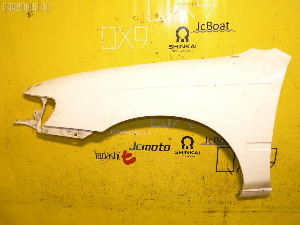 Крыло переднее TOYOTA COROLLA WAGON EE104G. Фото 4