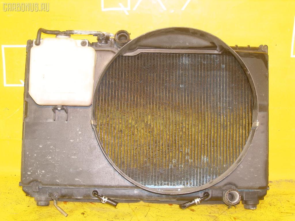 Радиатор ДВС TOYOTA MARK II GX90 1G-FE. Фото 9