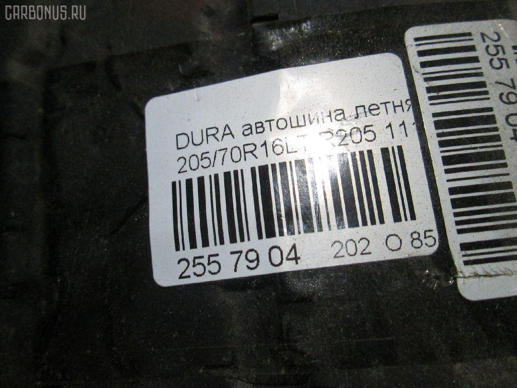 Автошина грузовая летняя DURAVIS R205 205/70R16LT BRIDGESTONE R205 Фото 4
