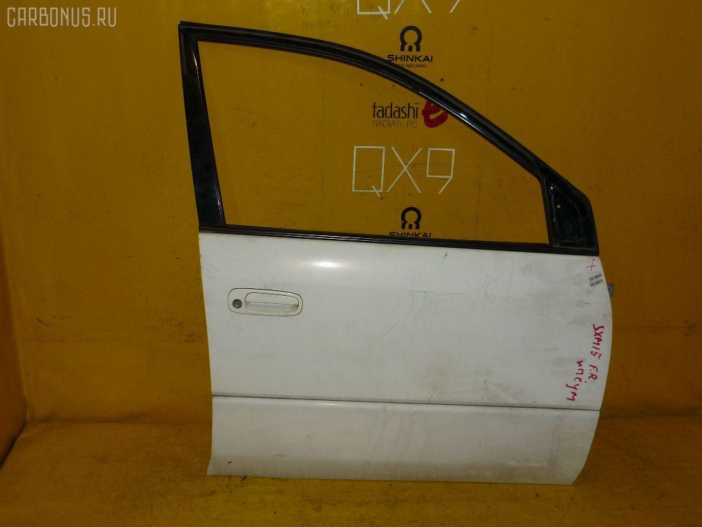 Дверь боковая TOYOTA IPSUM SXM15G. Фото 2