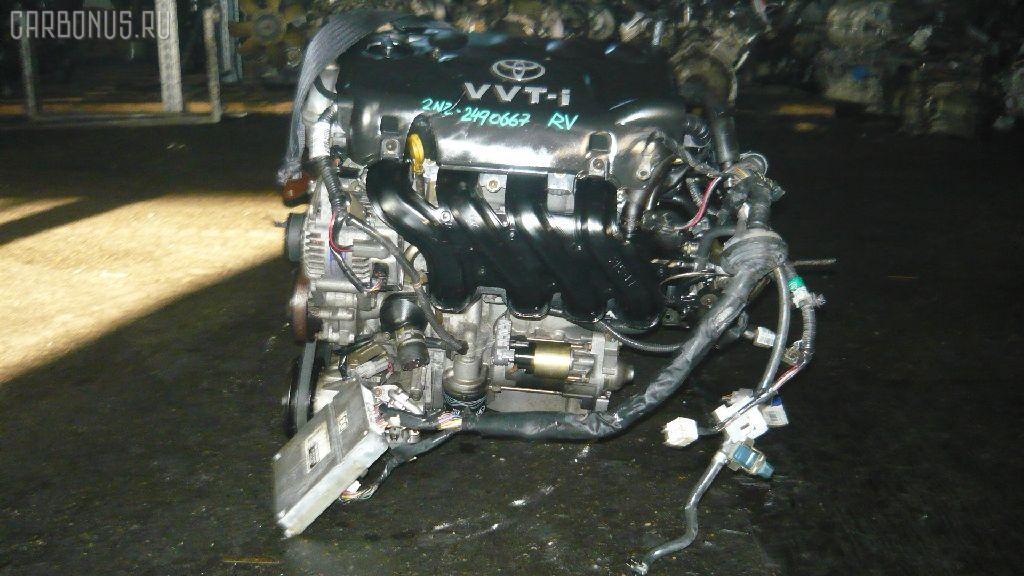 Двигатель TOYOTA IST NCP60 2NZ-FE. Фото 2
