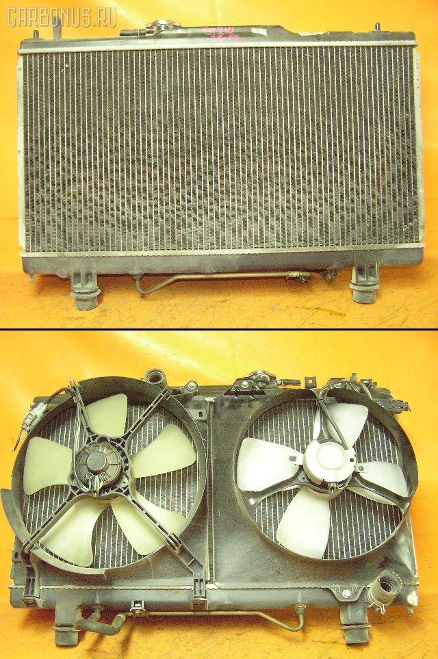 Радиатор ДВС TOYOTA CALDINA ST210G 3S-FE. Фото 6