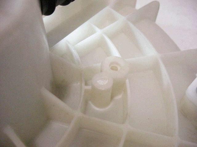 Мотор печки NISSAN PRIMERA TP12. Фото 2