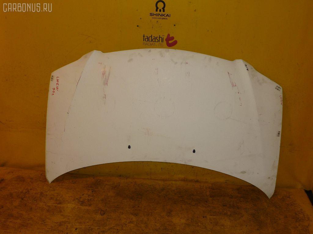Капот MAZDA MPV LWEW. Фото 5