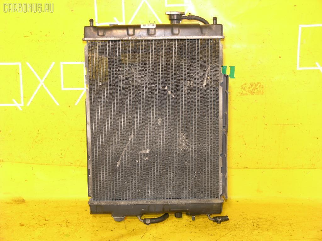 Радиатор ДВС NISSAN CUBE AZ10 CGA3DE. Фото 5