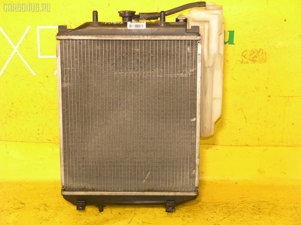 Радиатор ДВС TOYOTA DUET M100A EJ-DE. Фото 2