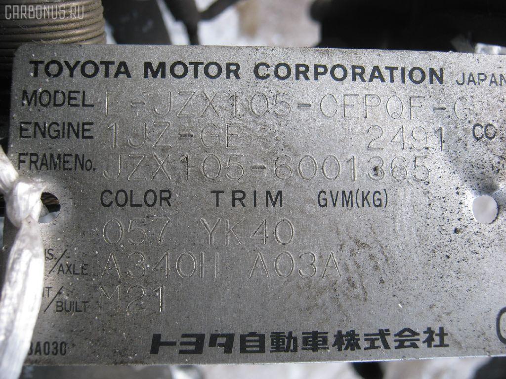Двигатель TOYOTA CROWN JZS153 1JZ-GE. Фото 11