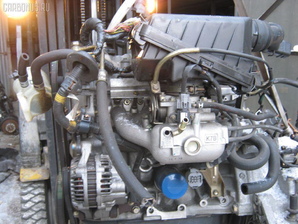 Двигатель HONDA LOGO GA3 D13B. Фото 3