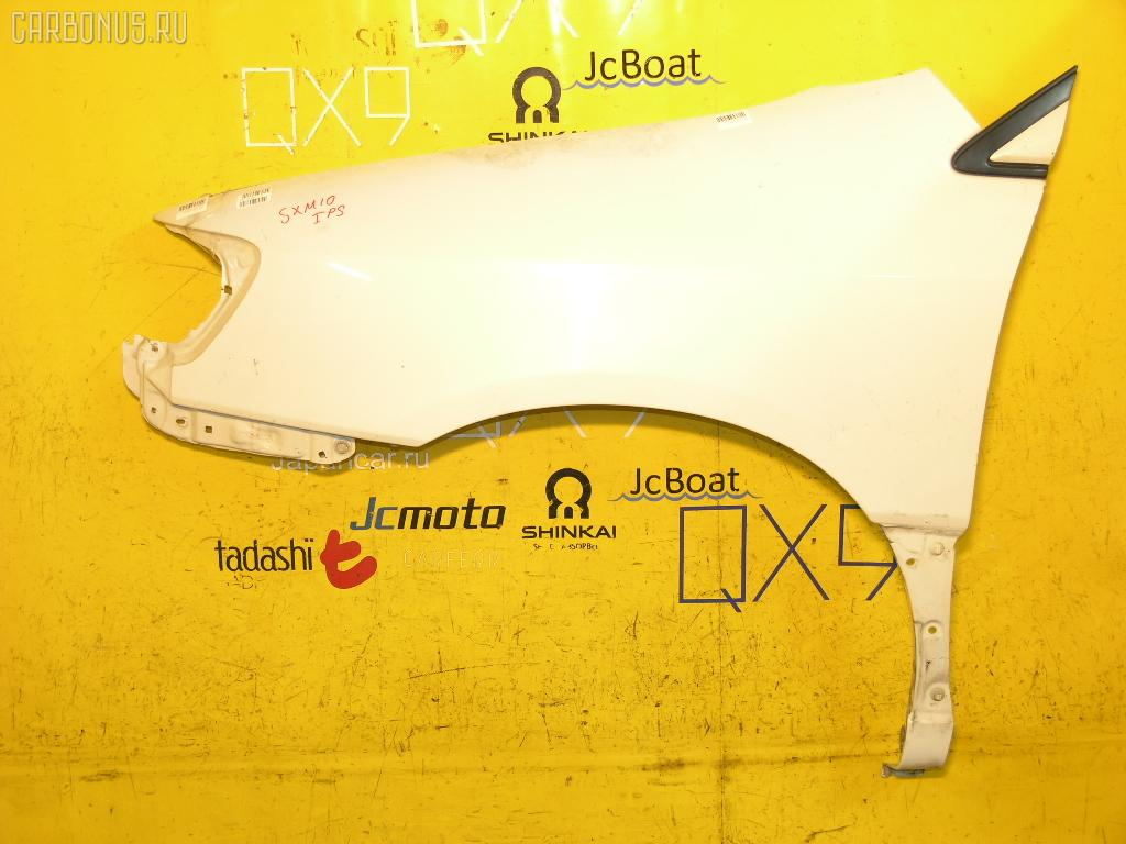 Крыло переднее TOYOTA IPSUM SXM10G. Фото 8