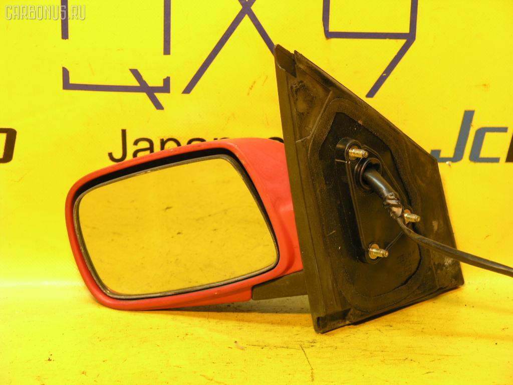 Зеркало двери боковой TOYOTA VITZ NCP10. Фото 8