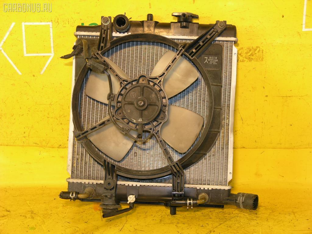 Радиатор ДВС MAZDA DEMIO DW3W B3. Фото 10
