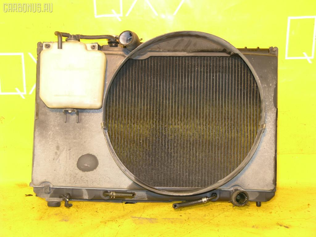 Радиатор ДВС TOYOTA CHASER GX90 1G-FE. Фото 3