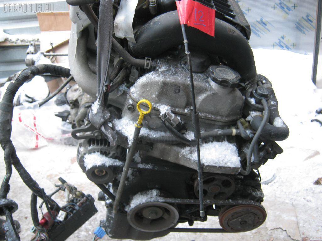 Двигатель SUZUKI KEI HN21S K6A-T. Фото 3