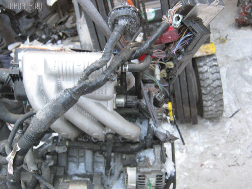 Двигатель SUZUKI KEI HN21S K6A-T. Фото 5