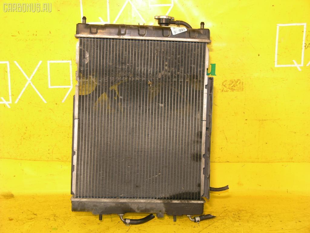 Радиатор ДВС NISSAN CUBE AZ10 CGA3DE. Фото 8