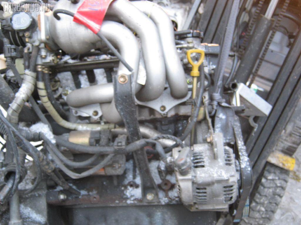 Двигатель TOYOTA STARLET EP91 4E-FE. Фото 2