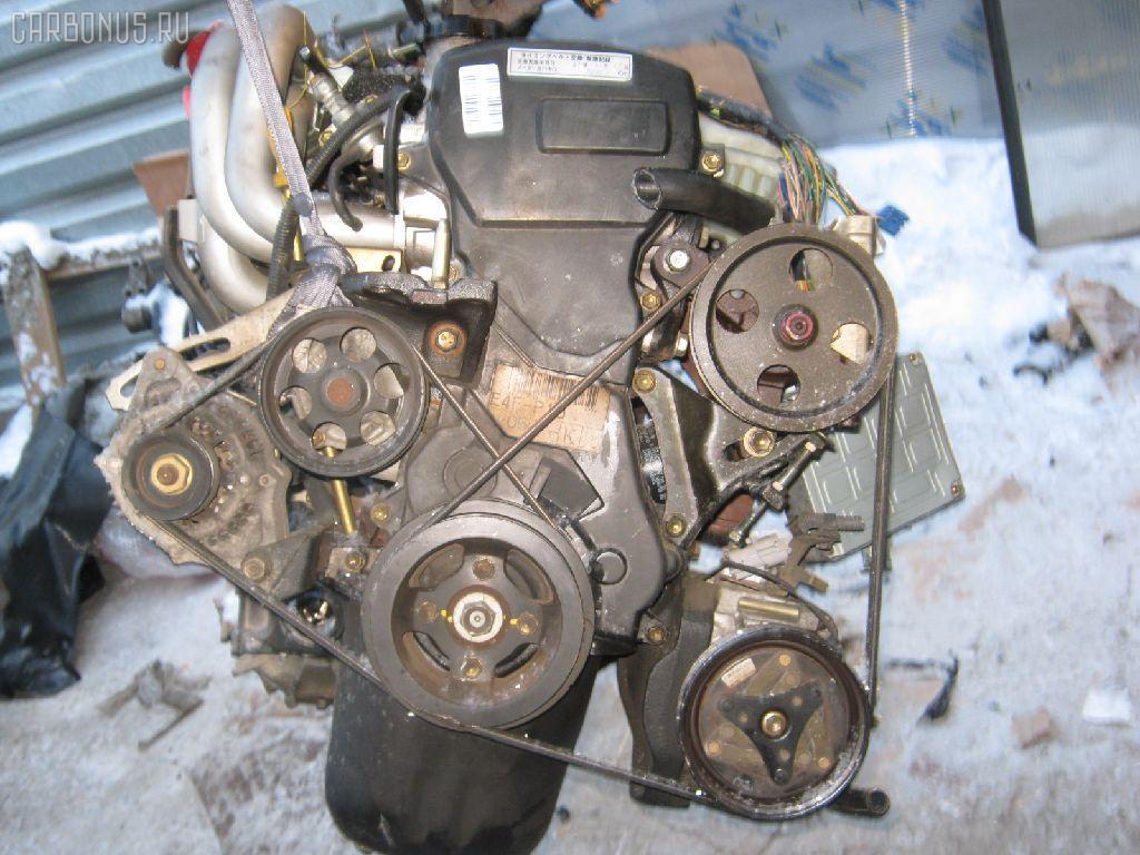 Двигатель TOYOTA STARLET EP91 4E-FE. Фото 3
