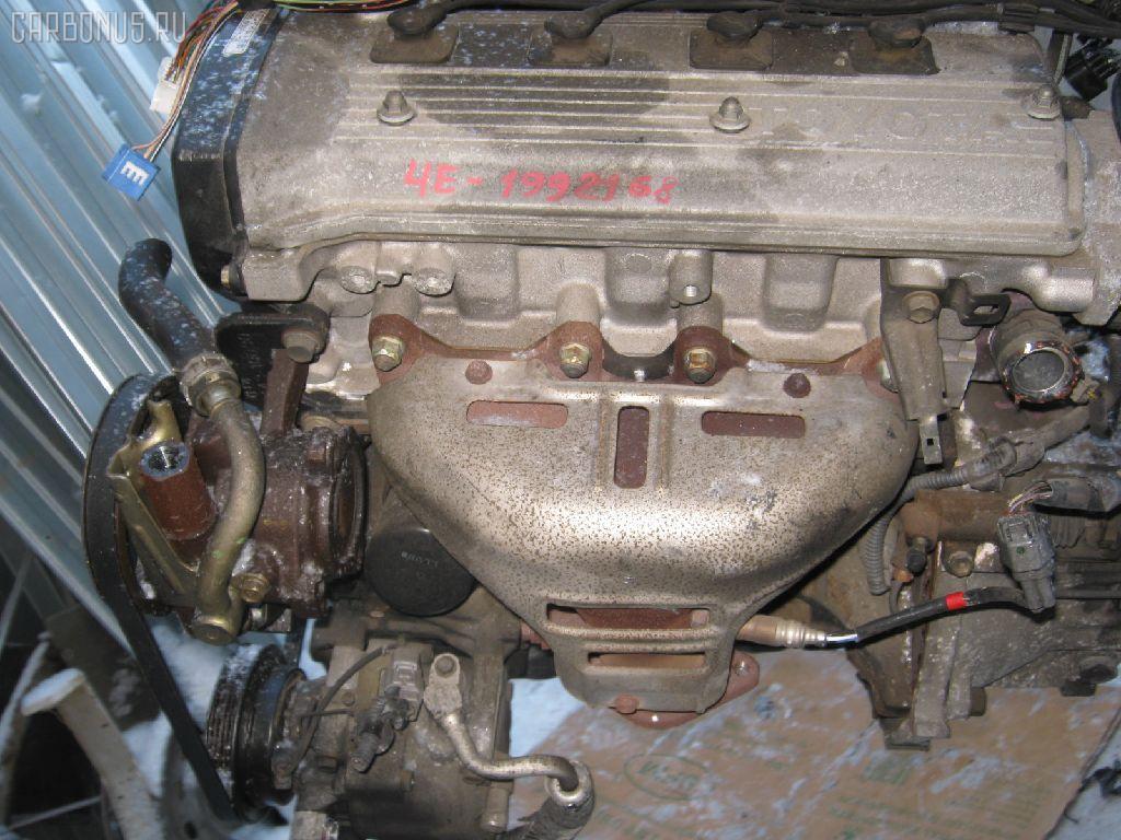Двигатель TOYOTA STARLET EP91 4E-FE. Фото 4