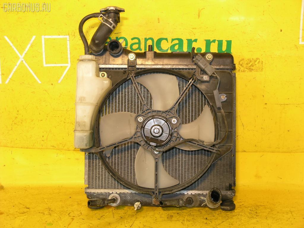 Радиатор ДВС HONDA FIT GD1 L13A. Фото 8