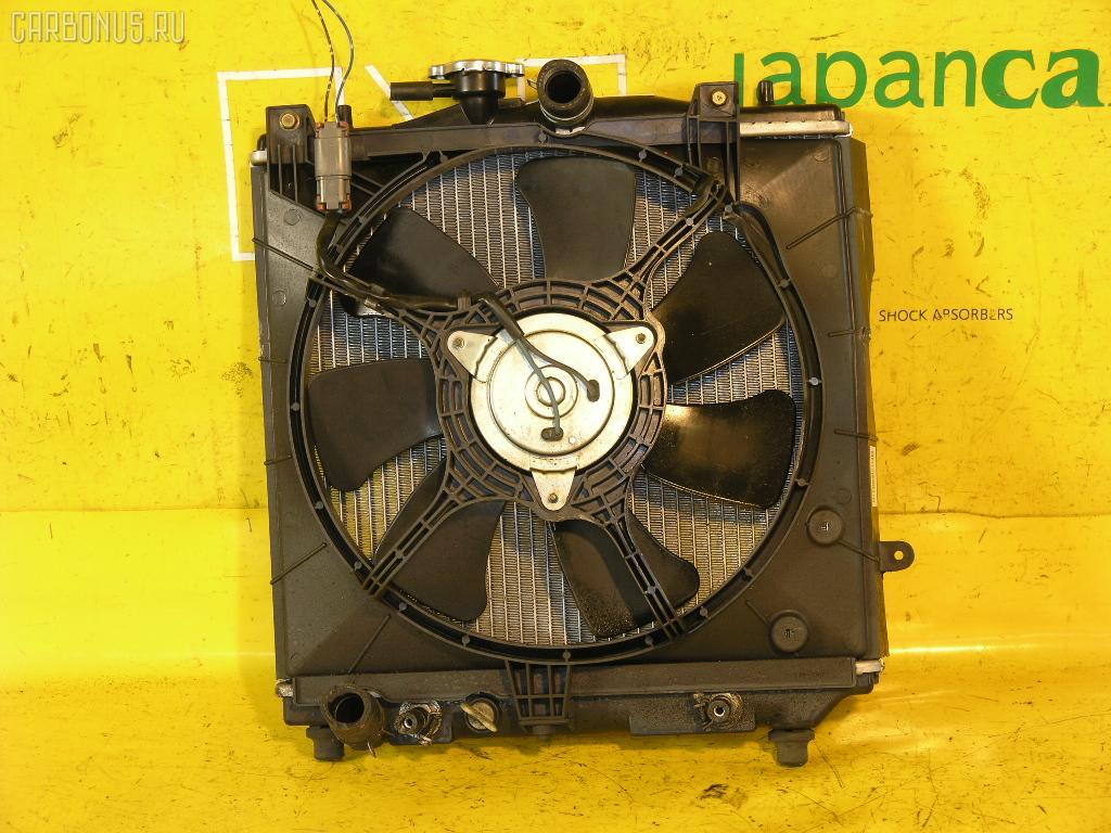 Радиатор ДВС SUBARU PLEO RA1 EN07E. Фото 2